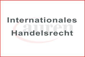 Kanzlei für Internationales Handelsrecht Frankfurt. Anwalt für Internationales Handelsrecht